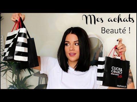MES ACHATS BEAUTÉ │ Becca, Sephora, Beauty Glazed, The balm, Too Faced..