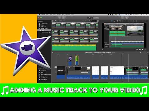 iMovie Tutorial - Adding Music Tracks to Your Video