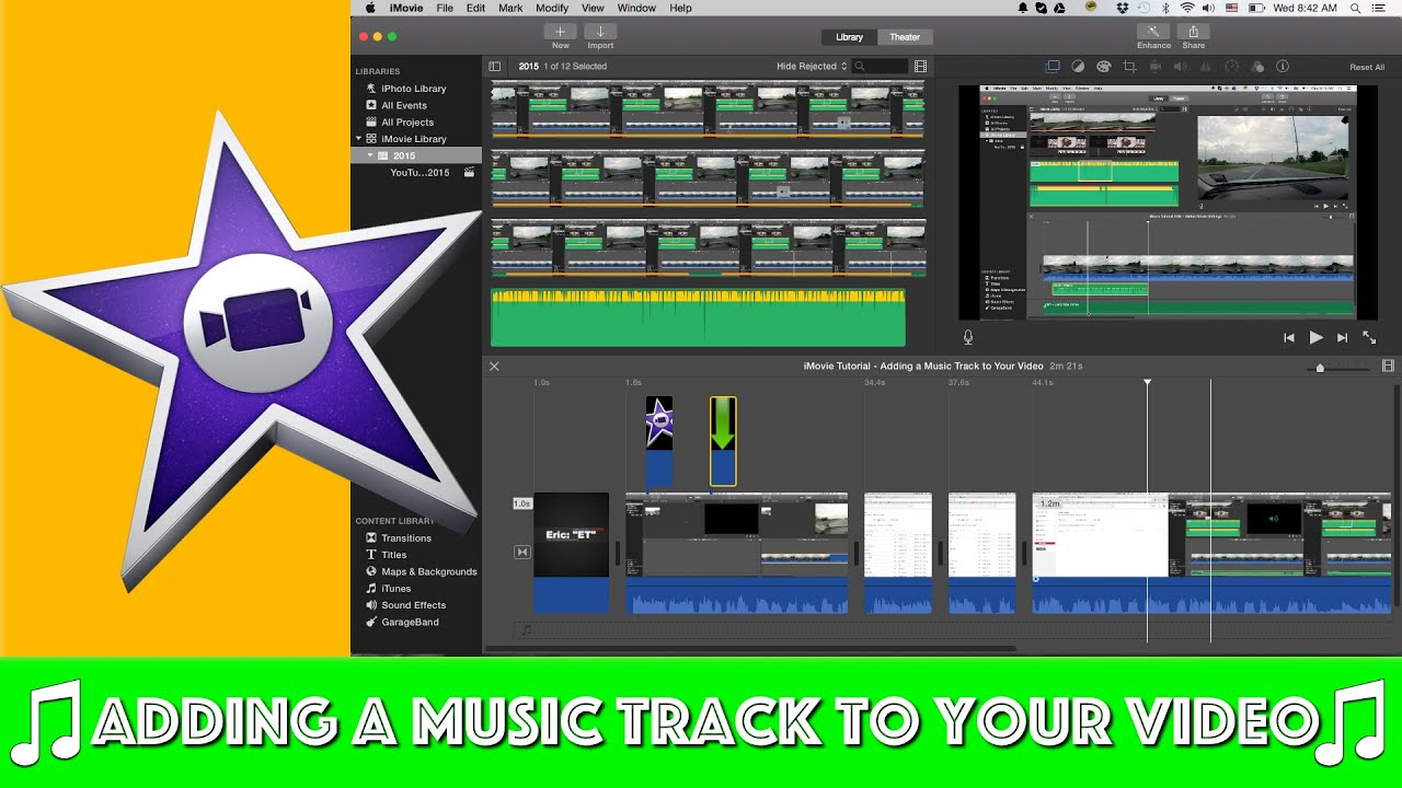 how to download music to imovie from youtube