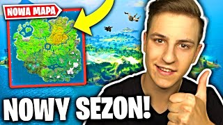 NOWY SEZON 1 i NOWA MAPA w FORTNITE Battle Royale
