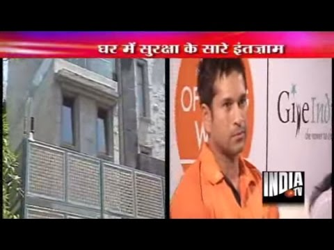 Video Sachin Tendulkar 39 S New House Shell House At Bandra