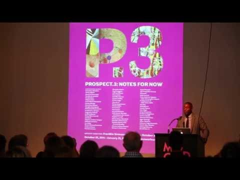 Franklin Sirmans Lecture