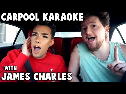 CARPOOL KARAOKE w/ JAMES CHARLES