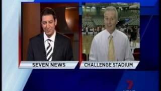 Andrew Gaze on Channel Seven 5.3.10