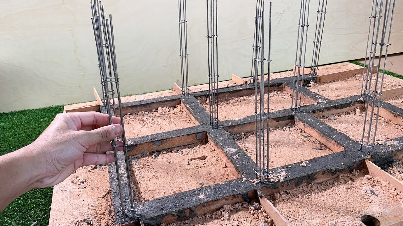 New Amazing Bricklaying How To Make The Foundations For A House