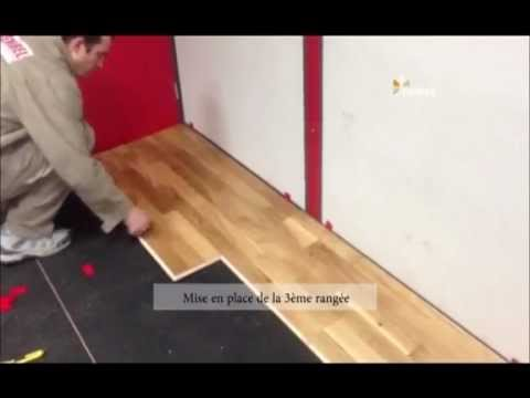 vid o parquet flottant comment poser un parquet flottant premibel parquet youtube. Black Bedroom Furniture Sets. Home Design Ideas