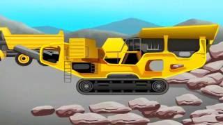 Машинки мультики. Дорожно-строительная техника для детей. Строим дорогу - мультики для детей