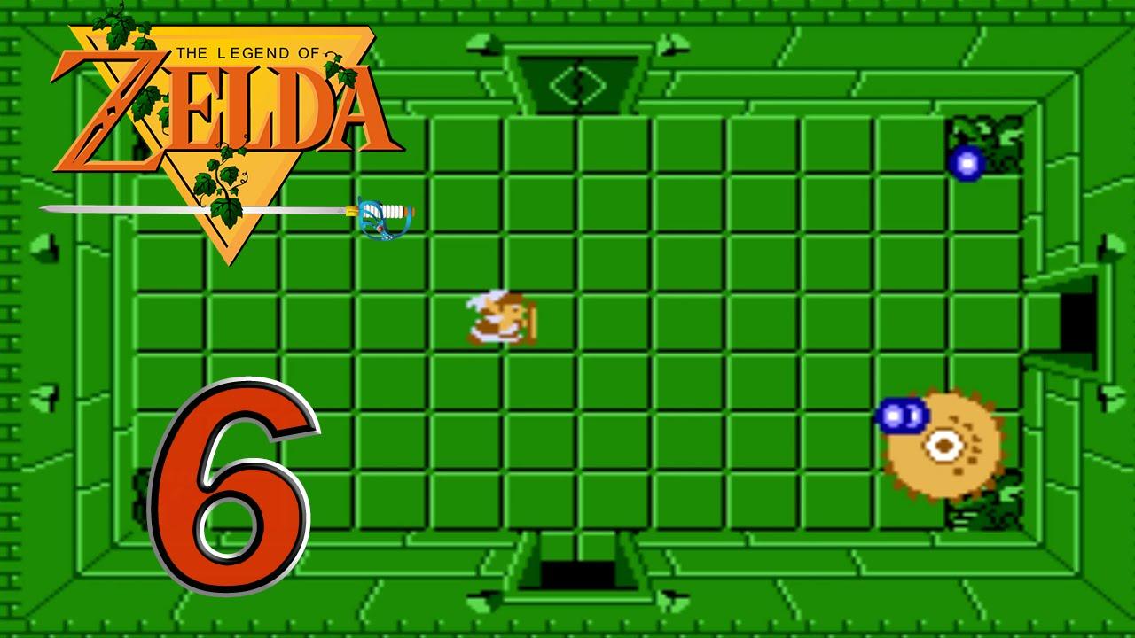 The Legend of Zelda NES Ep  6 - Dungeon 5: Boss Digdogger