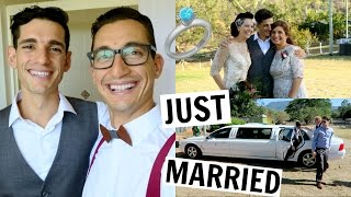 BACK IN AUSTRALIA FOR MY BROS WEDDING [ft. my ex-wife]