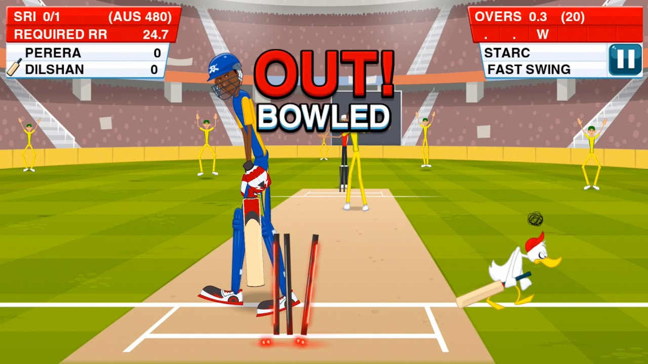 Stick Cricket game for PC best Spot game 2018