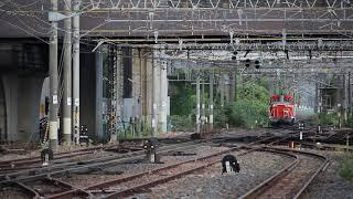 東北本線 DE10形 単9550レ 盛岡駅発車 2019年6月17日