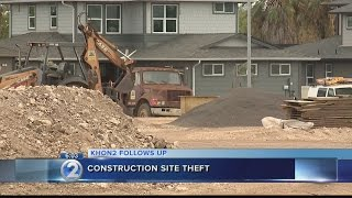 Construction halts after $20,000 in equipment stolen from Ewa site