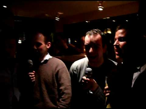 barnes sheen karaoke 5 daves sing abba