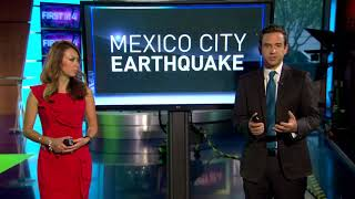 Dozens killed in Mexico's 7.1 earthquake