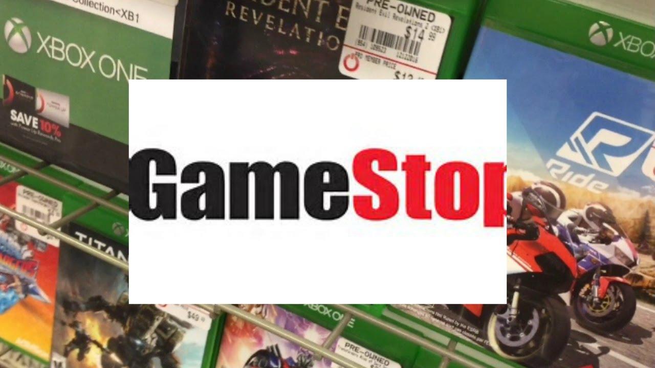 CHRISTMAS SHOPPING AT GAMESTOP!! - YouTube