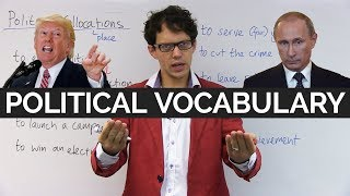 Political vocabulary and expressions in English