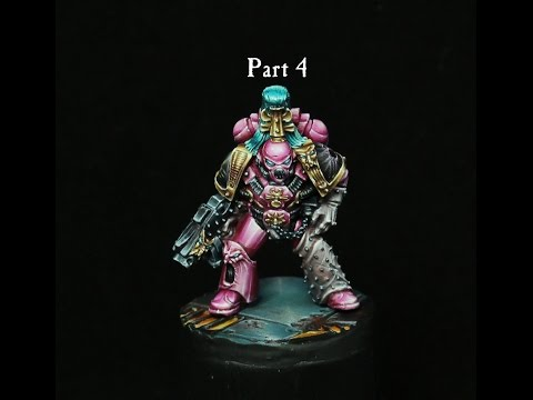 slaanesh marine from the 90's part 4