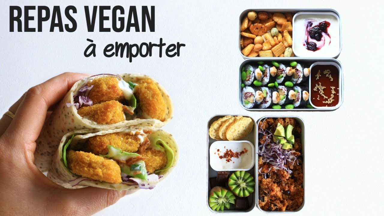 1 SEMAINE DE REPAS À EMPORTER | Vegan Lunch Box