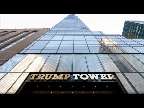 Trump Tower in New York - Präsidentenpalast
