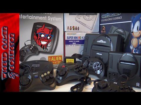 Sega Mini Classic China Console Comparison Video Review | At Games thumbnail