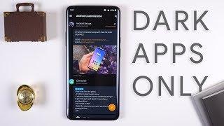 Best Dark Android Apps - 2019