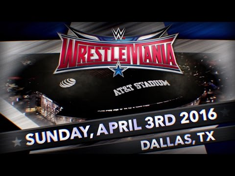 WrestleMania 32 - Live From Dallas Texas, April 3, 2016