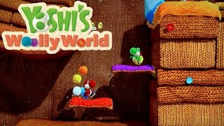 Yoshi's Woolly World - Co-op Off-Screen Gameplay
