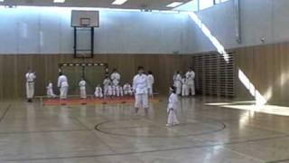 """""""Lisa""""     Karate Gürtelprüfung   9 Kyu  Taikyoku Shodan"""