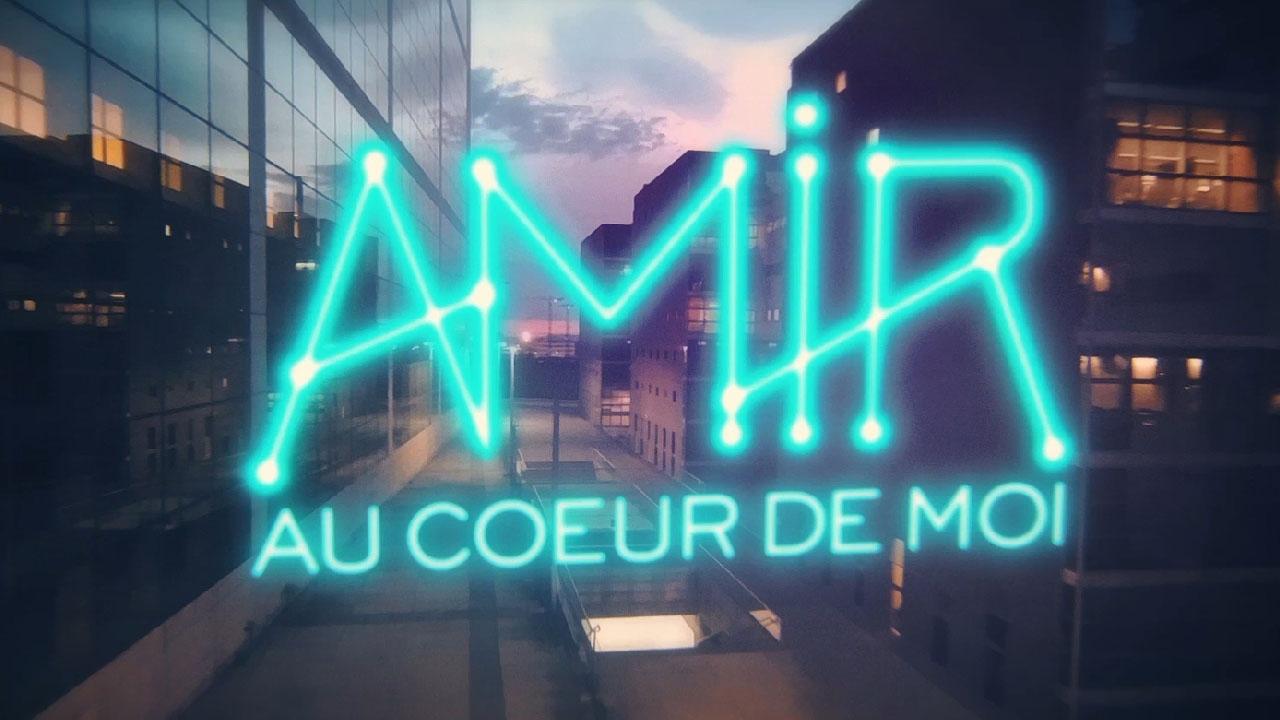 Amir - Au coeur de moi (Lyrics video)