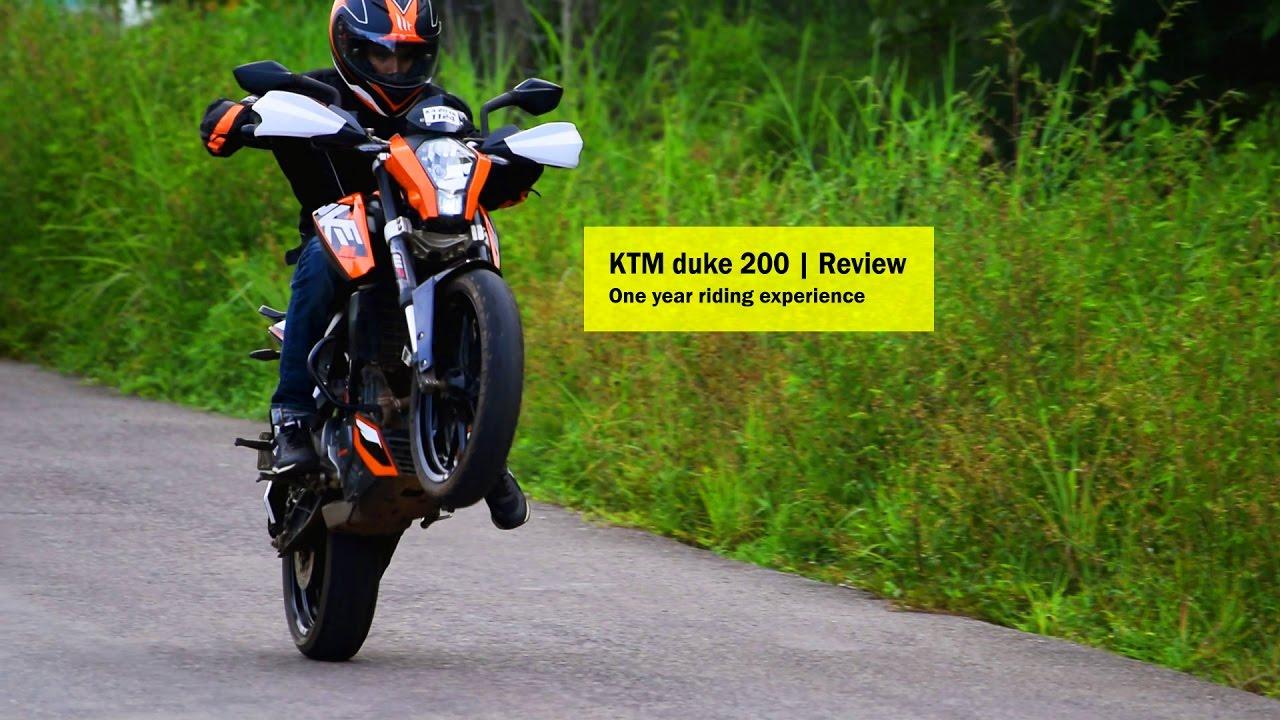 ktm duke 200 | review -2016 - youtube