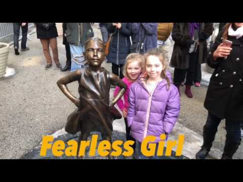 A Visit to 'Fearless Girl' Statue on Wall Street