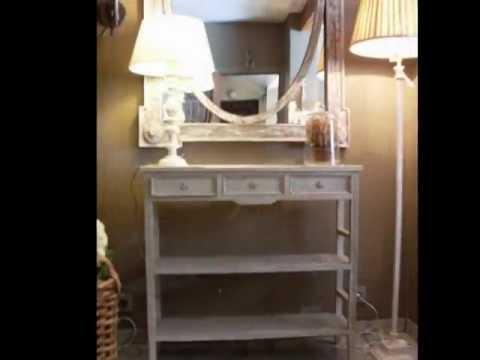 Muebles recibidor consolas y c modas online youtube for Pintar un mueble de blanco