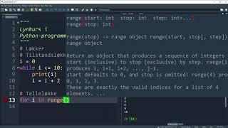 Lynkurs i Python-programmering