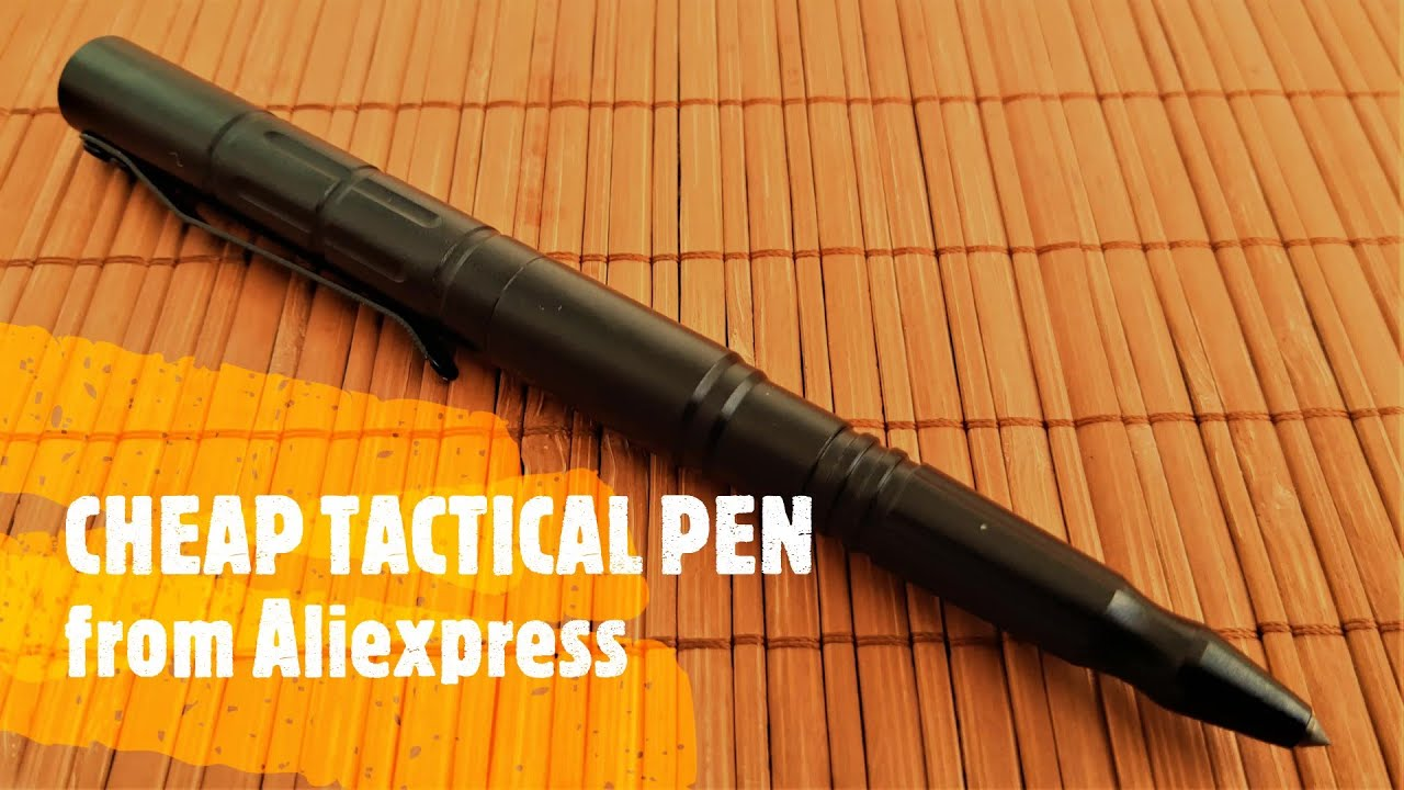 ᐉ Aliexpress unboxing: Cheap tactical pen