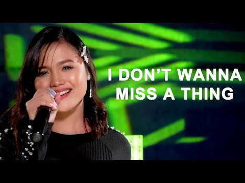 """Melbelline Caluag Sings """"I DON'T WANNA MISS A THING"""" (Theme From """"Emperor: Ruler Of The Mask"""")"""