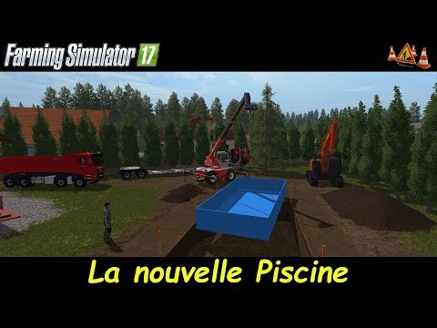 Fs17 la nouvelle piscine for Piscine simulator flex