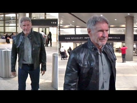 Harrison Ford Smirks When Asked About Donald Trump Being The Next President