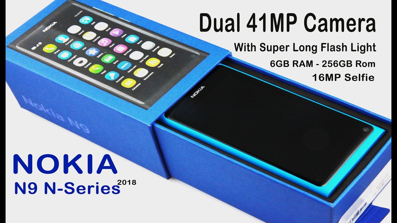 NOKIA N9 Nseries in 2018 is Back, 41MP Camera with Carl Zeiss optics,  Snapdragon 840