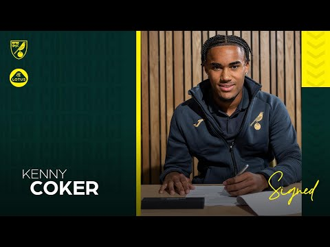 """""""IT'S SUCH A GOOD MOMENT!""""   Kenny Coker signs first pro contract"""