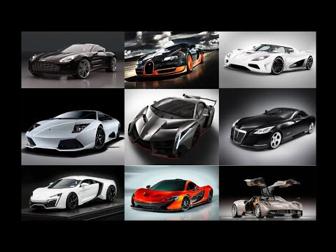 MOST EXPENSIVE CARS 2019-2020 | AWESOME