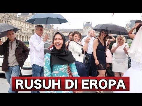 BEGINI RASANYA ULANG TAHUN DI EROPA - Vlog 1jt subs