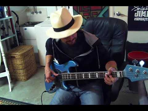 Lakland Skyline Darryl Jones Bass \\ Demo & Review