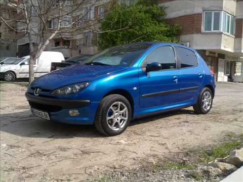 peugeot 206 tuning before and after youtube. Black Bedroom Furniture Sets. Home Design Ideas