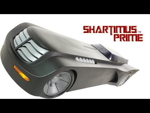 Batman The Animated Series Batmobile DC Collectibles 6 Inch 1:12 Scale Toy Figure Vehicle Review