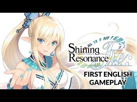 Shining Resonance Refrain Debut English Gameplay