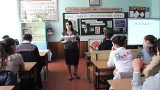 открытый урок  учителя ГСОШ№2 Алиметовой Р.А.  HD