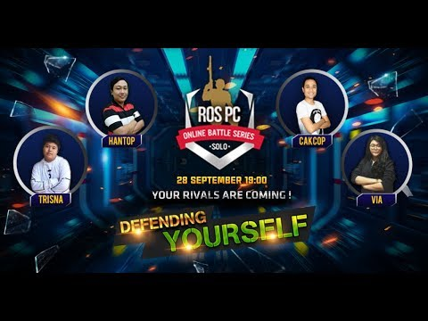 🔴[LIVE] Rules of Survival PC asia (INDONESIA) -- TURNAMENT SOLO SETIAP HARI JUMAT - 동영상
