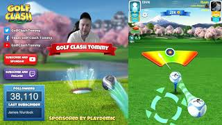 Golf Clash tips, Playthrough, Hole 1-9 - PRO - TOURNAMENT WIND! Easter Open Tournament!
