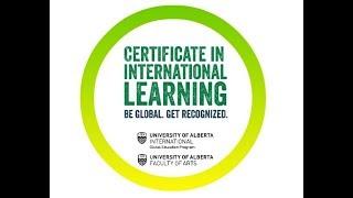 Certificate in International Learning