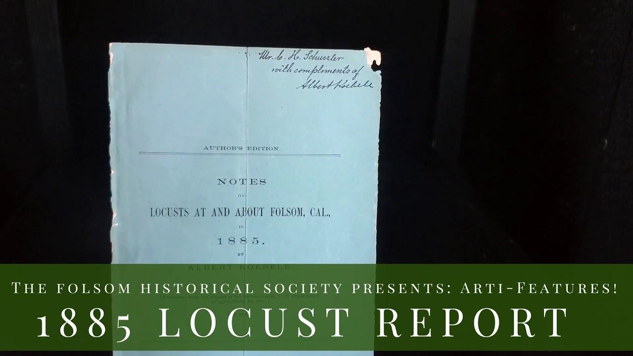 ArtiFeatures: Historic Folsom Locust Agricultural Report